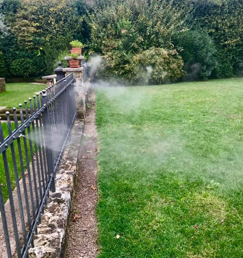 giardino nebulizzato da antizanzare